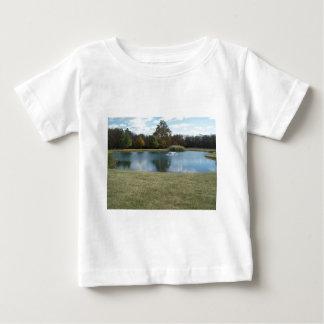 Damm med fontänen tee shirts