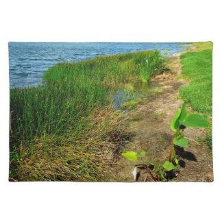 Damm packar ihop med dammväxter bordstablett