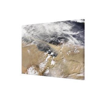 Damma av slag av kusten av Libyen Canvastryck