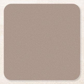 Dammar av den bruna stjärnan för bäver underlägg papper kvadrat