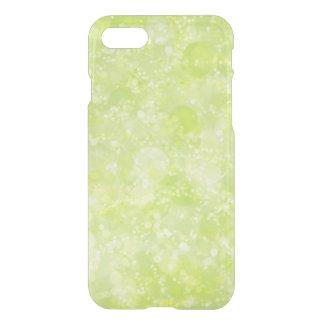 Dammar av den gröna fen för limefrukt Bokeh iPhone 7 Skal