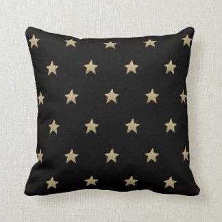 Dämpar den svart dekorativ kudde för