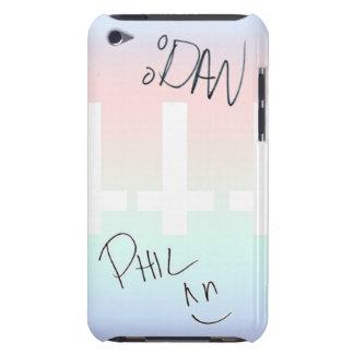 Dan och Phil undertecknat iPod 4g fodral, iPod Case-Mate Skal