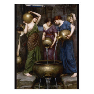 Danaides John William Waterhouse Vykort
