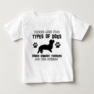 Dandie Dinmont Terrierhund design Tshirts