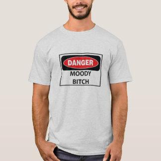 Danger-Moody-Bitch_whiteT Tee Shirt
