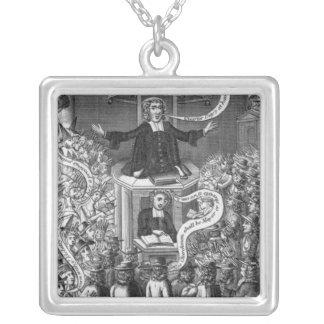 Daniel Burgess, illustration från 'porträtt Silverpläterat Halsband