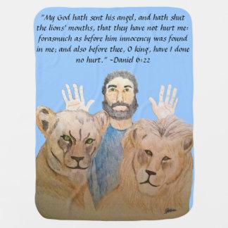 Daniel i lejon filten för håla II Bebisfilt