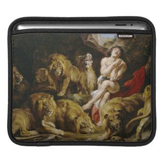 Daniel i lion'sens håla Peter Paul Rubens målar iPad Sleeve