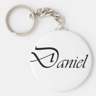 Daniel Rund Nyckelring