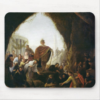 Daniel som dödar draken av baalen musmatta
