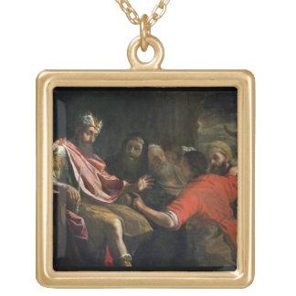 Daniel som först tolkar Nebuchadnezzars dröm ( Guldpläterat Halsband