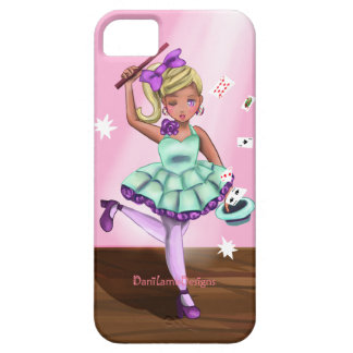 DaniLambDesigns flicka för Kawaii trollkarl iPhone 5 Cover