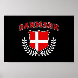 Danmark Posters