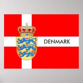 Danmark affisch! poster