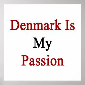 Danmark är min passion poster