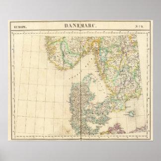 Danmark Europa 8 Poster