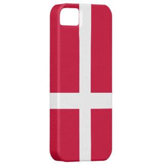 Danmark flagga iPhone 5 Case-Mate fodraler
