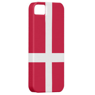Danmark flagga iPhone 5 skal
