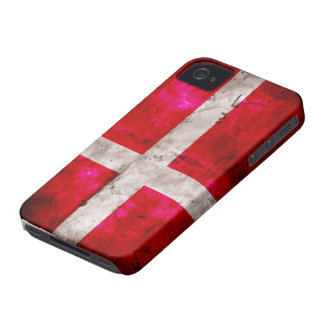 Danmark flagga iPhone 4 Case-Mate skydd
