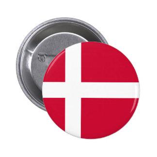 Danmark flagga knapp