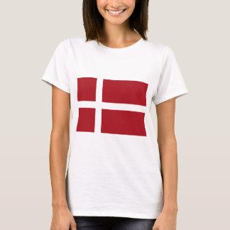 Danmark flagga t-shirts