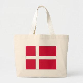 Danmark flaggadesign jumbo tygkasse