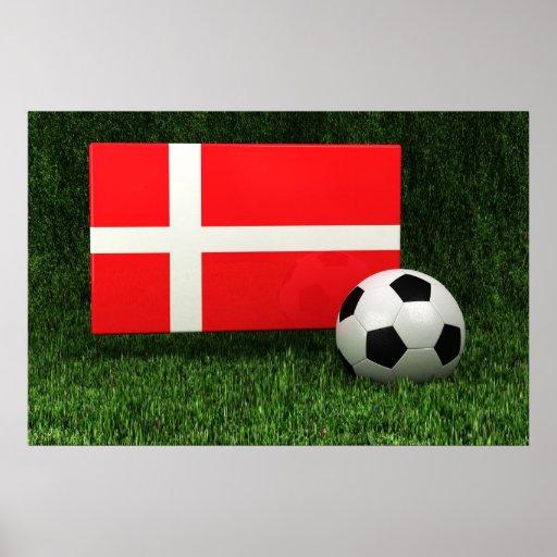Danmark fotboll posters
