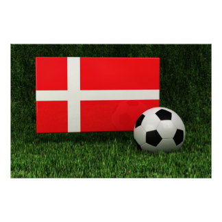 Danmark fotboll poster