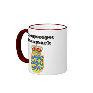 Danmark kunglig mugg Kongeriget Danmark mugg