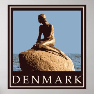 Danmark lite sjöjungfru poster