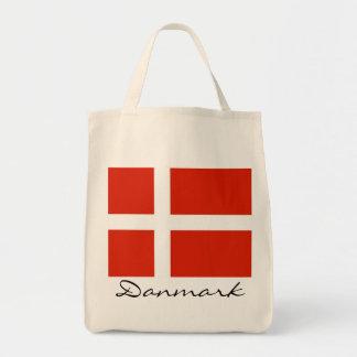 Danmark med Dannebrog Budget Tygkasse