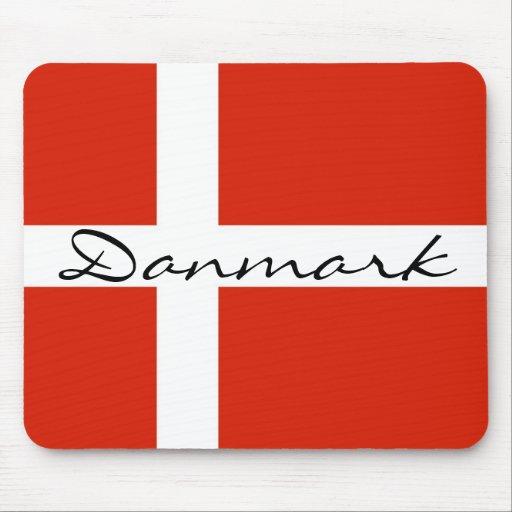 Danmark med Dannebrog Mus Matta