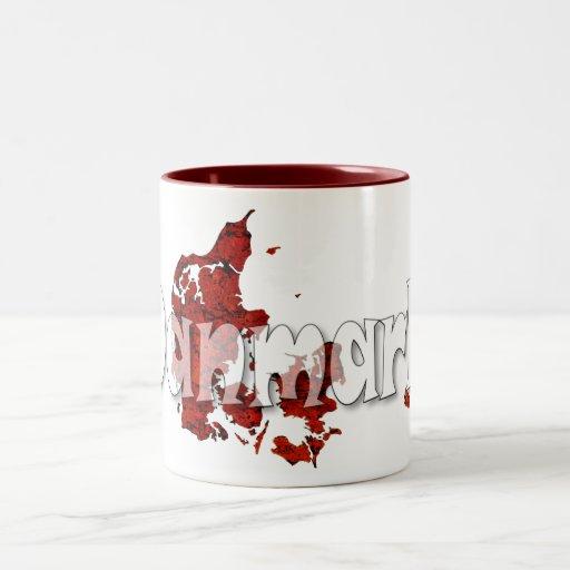Danmark Kaffe Mugg
