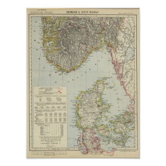 Danmark södra norge posters