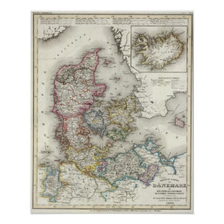 Danmark Tyskland 2 Affischer