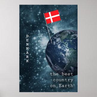 Danmark ut ur denna värld poster