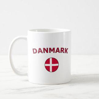 Danmark Vit Mugg