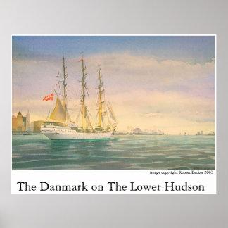 Danmarken på den lägre Hudsonen Affischer