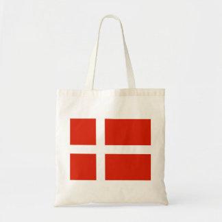 Dannebrog; Den officiella flagga av Danmark Budget Tygkasse