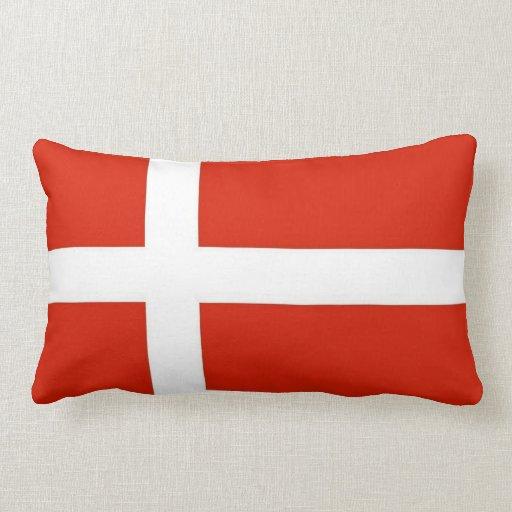 Dannebrog; Den officiella flagga av Danmark Kudde