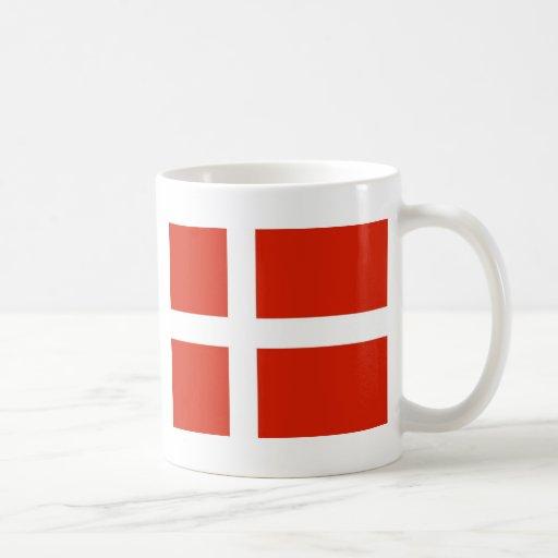 Dannebrog; Den officiella flagga av Danmark Muggar