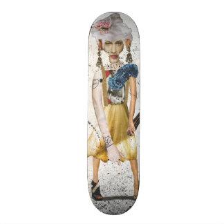 """Danny Daurko Skateboarddäck, 7/8"""", Mini Skateboard Bräda 18,5 Cm"""