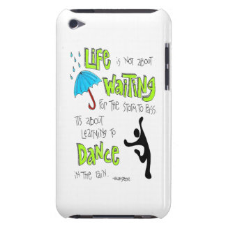 Dans i regnacitationsteckenipod fodral iPod touch Case-Mate skydd