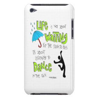 Dans i regnacitationsteckenipod fodral iPod touch Case-Mate skydd