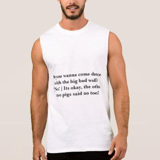 dans med den stora dåligavargen sleeveless t-shirt