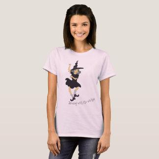 Dansa med häxorna tee shirt