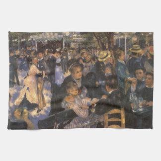 Dansa på Le Moulin de la Galette av Pierre Renoir Kökshandduk