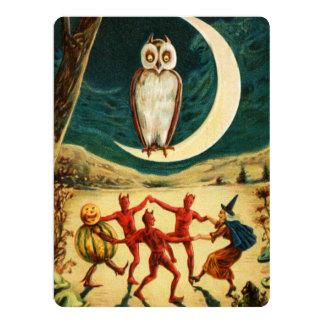 Dansa under månen 16,5 x 22,2 cm inbjudningskort