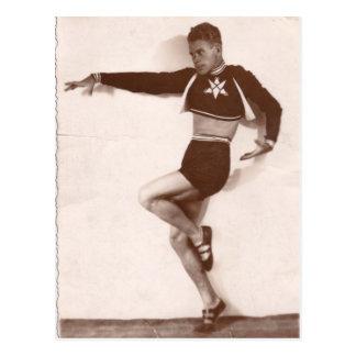Dansare 1936 vykort